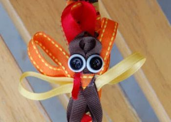 Tutorial: Turkey Headband or Hair Clip