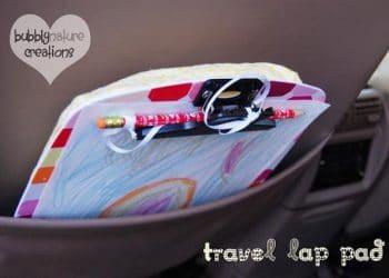 Tuesday Tutorial: Travel Lap Pad