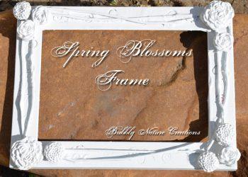 Thrifty Thursday: Spring Blossoms Frame