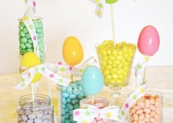 Project Party Weekend: Jellybean Decor…. Link Up Your Projects here!