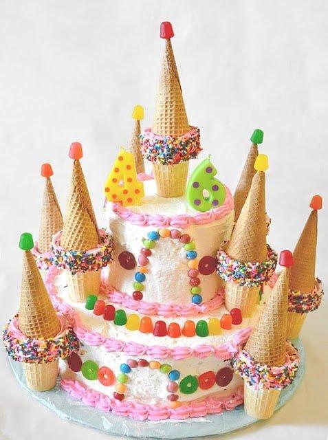 Candy Castle Cake Easy Candyland Cake