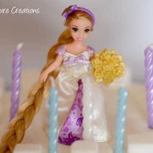 Princess Castle Cake!