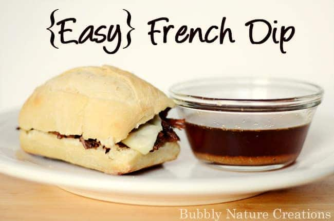 Easy French Dip Sprinkle Some Fun
