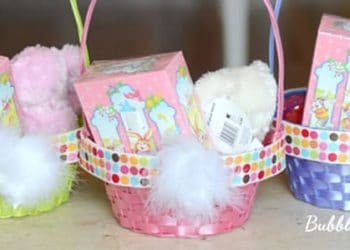 Bunny Baskets!  {Easter Craft Ideas} #KmartEaster #CBias