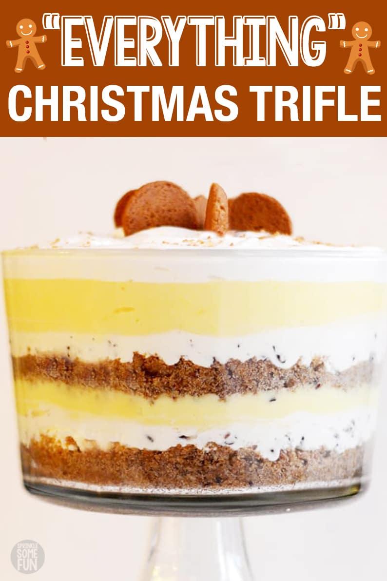 Christmas Flavors.Everything Christmas Trifle Sprinkle Some Fun