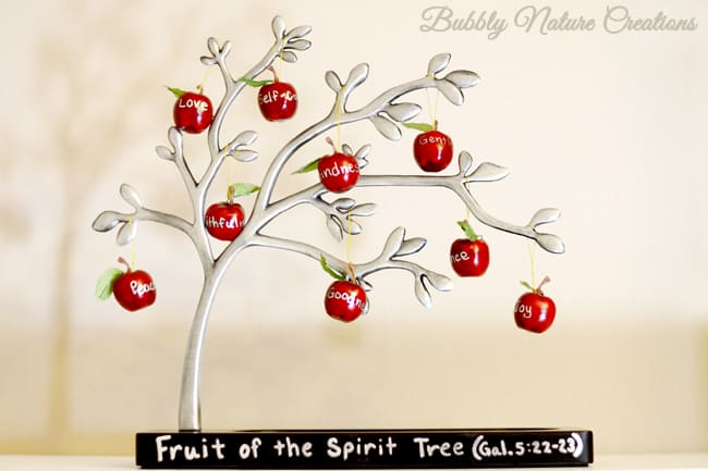 Fruit of the Spirit Tree!