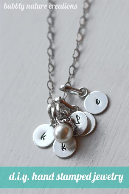 DIY Hand-Stamped Jewelry