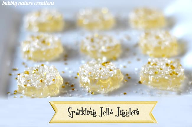 sparkling Jello Jigglers 2