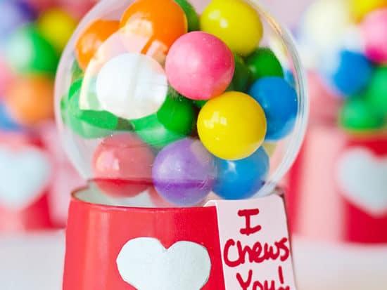 Mini Bubblegum Machine Valentines! {Tutorial}