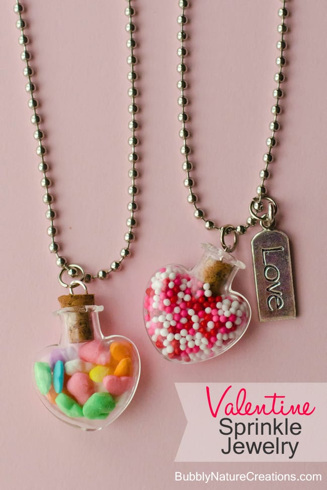 Valentine Sprinkle Jewelry 1 2 {Valentine} Sprinkle Jewelry!