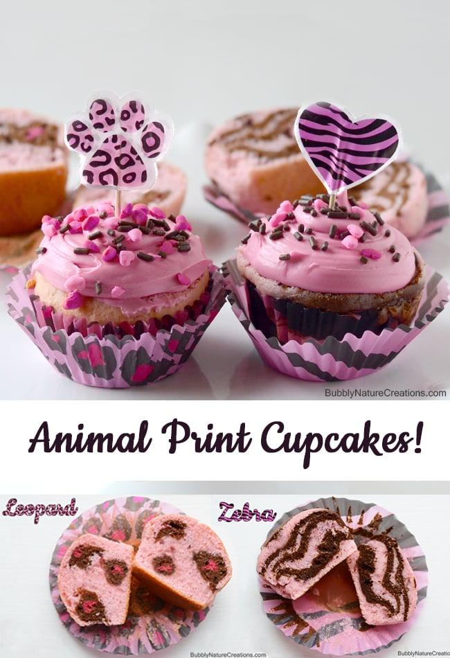 Animal Print Cupcakes! 2