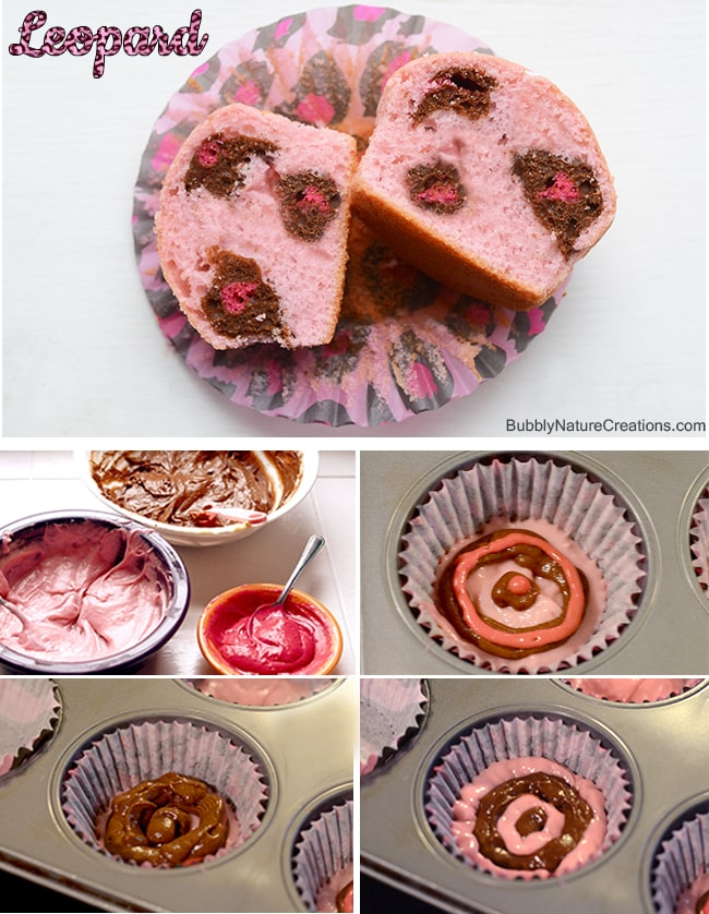 Animal Print Cupcakes! 4