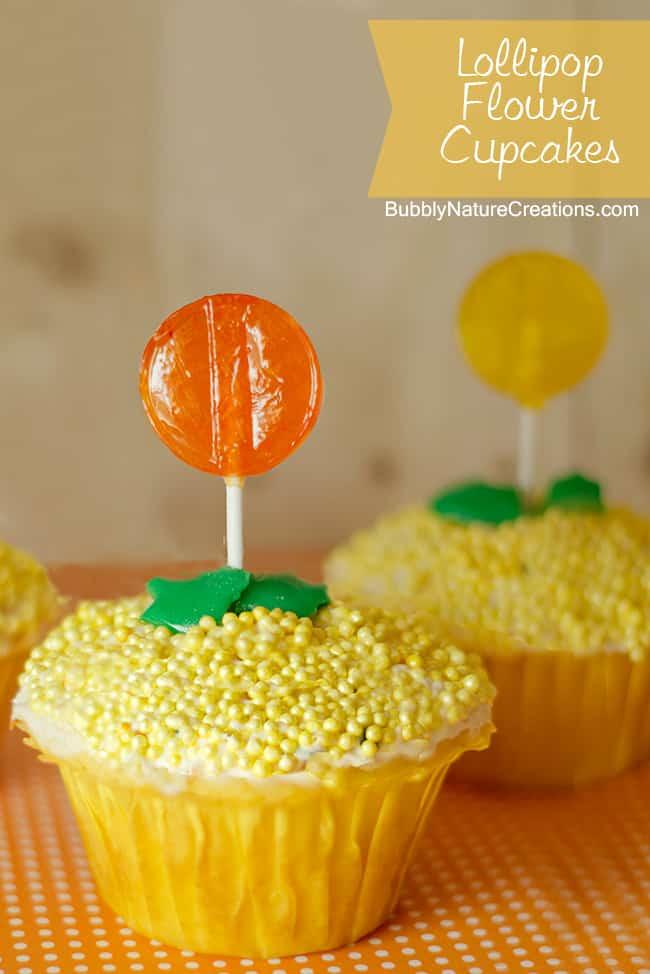 flower cupcakes 2