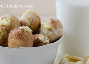 {Baked} Banana Pudding Poppers!