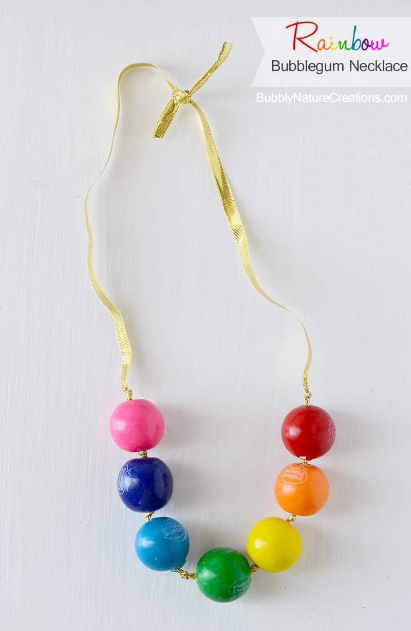 Rainbow Bubblegum Nacklace