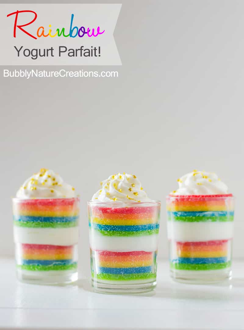 Rainbow Yogurt Parfait2