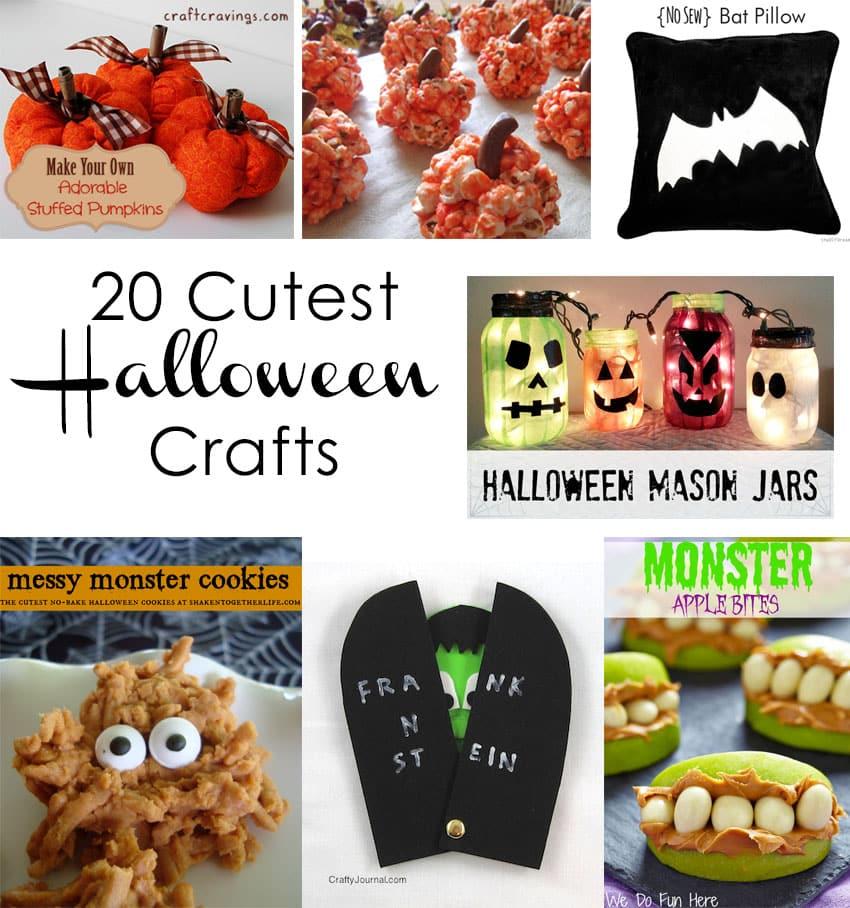 20 Cutest Halloween Crafts