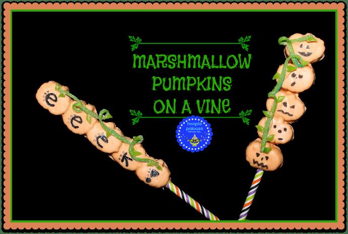 Marshmallow Pumpkin straws