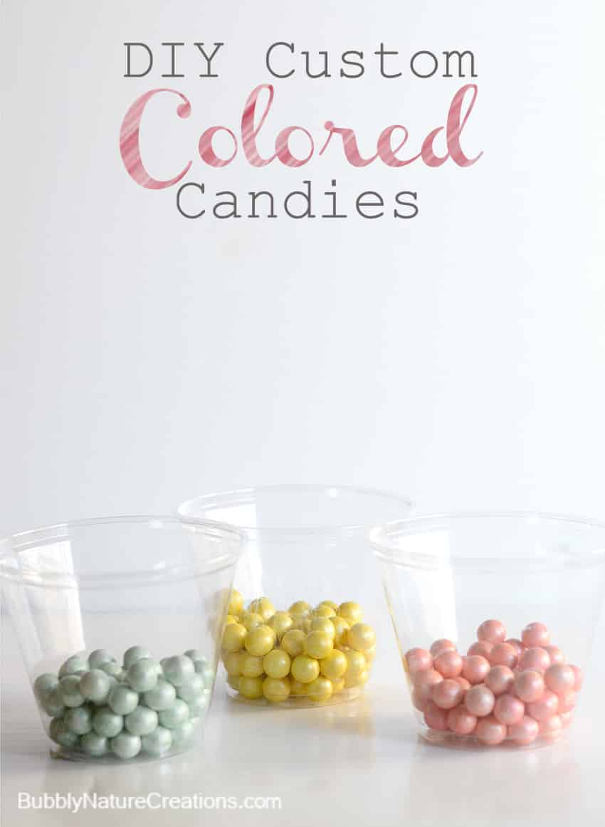 Custom Colored Candies