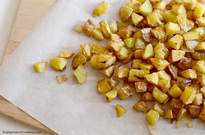 Fried Potatoes With Onions Sprinkle Some Fun