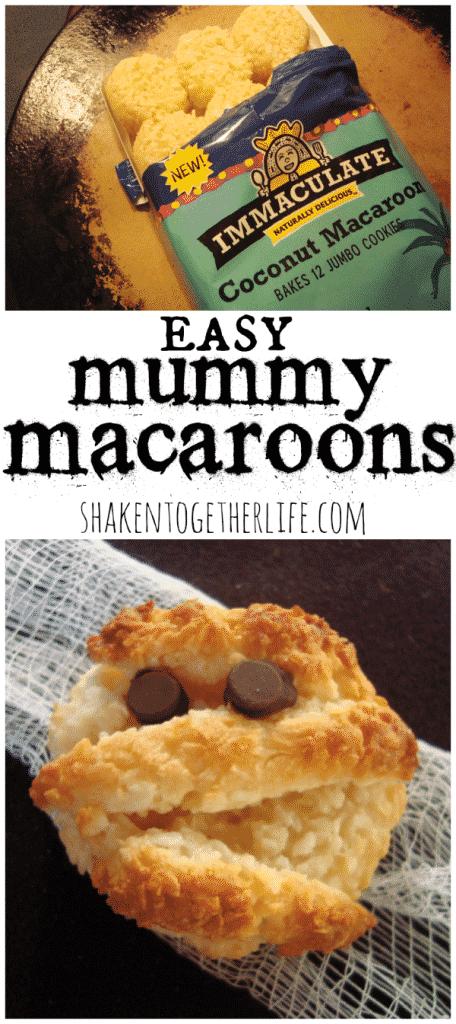 Easy Mummy Macaroons