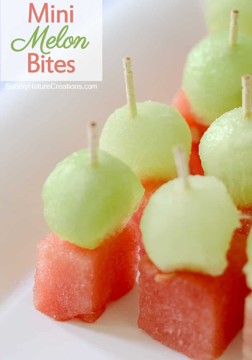 Mini Melon Bites 1