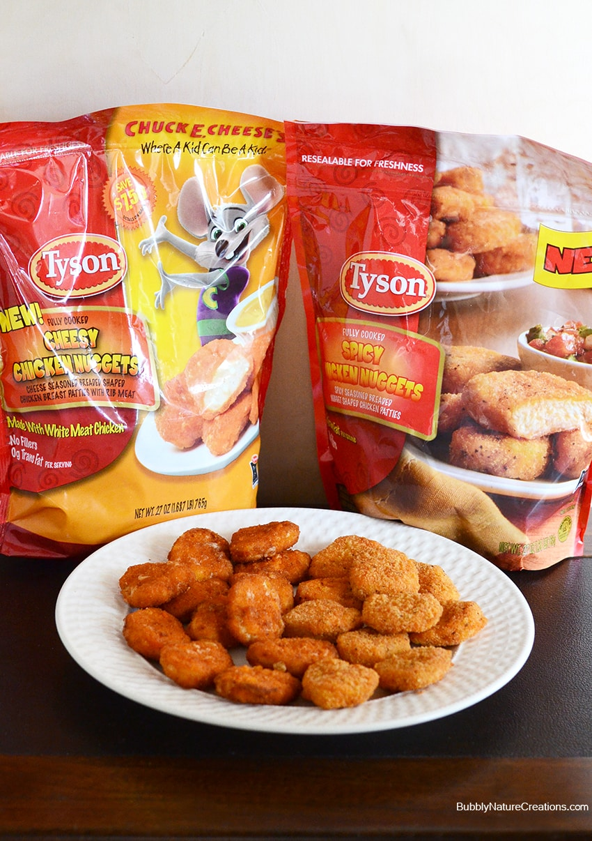 Tyson Cheesy and Spicy Chicken Nuggets #ad