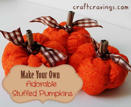 Adorable Stuffed Pumpkins