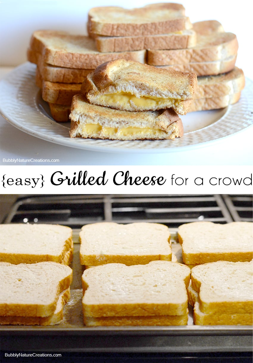 Easy Grilled Cheese for a Crowd! 1