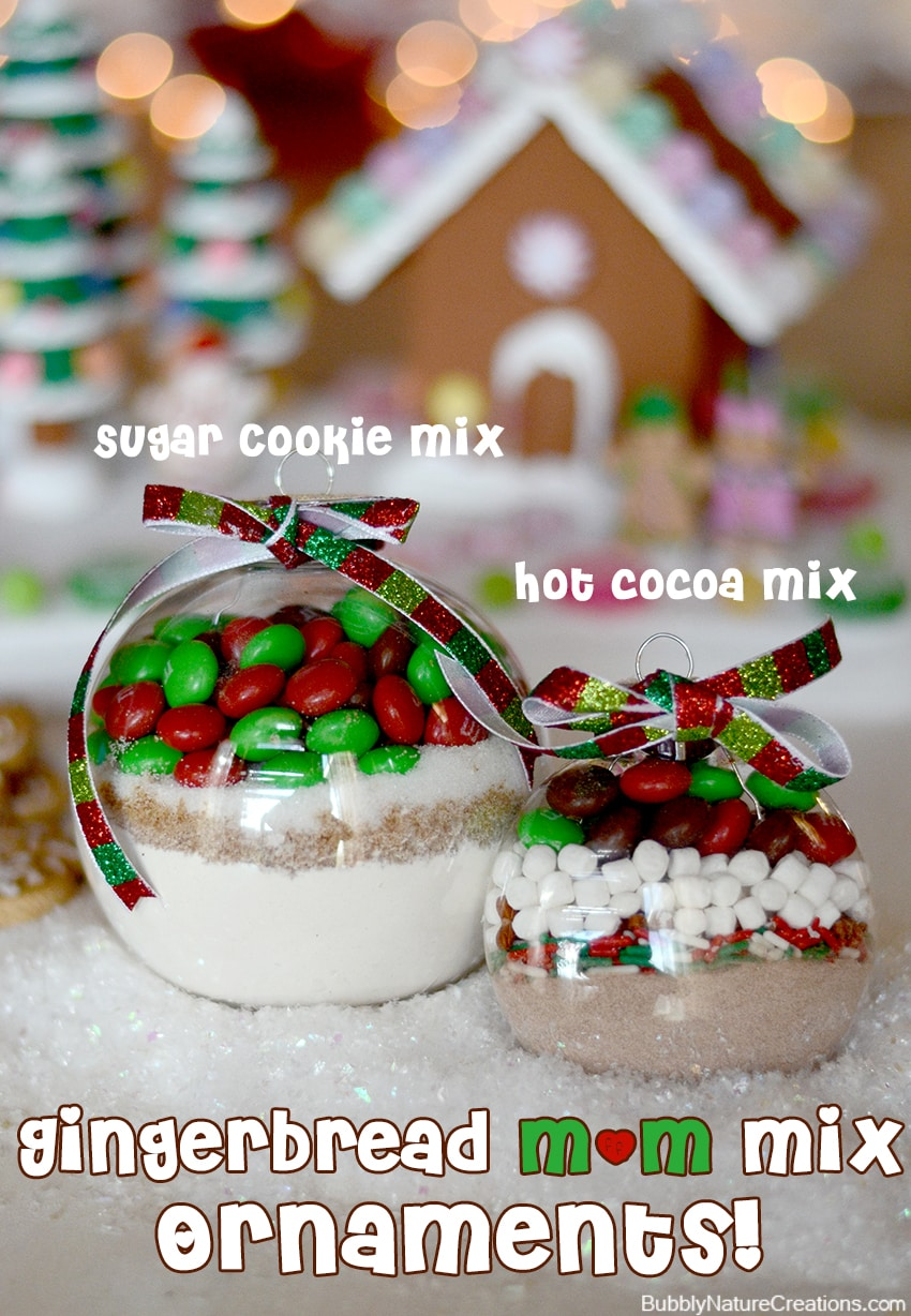 Hot Cocoa Mix Ornaments