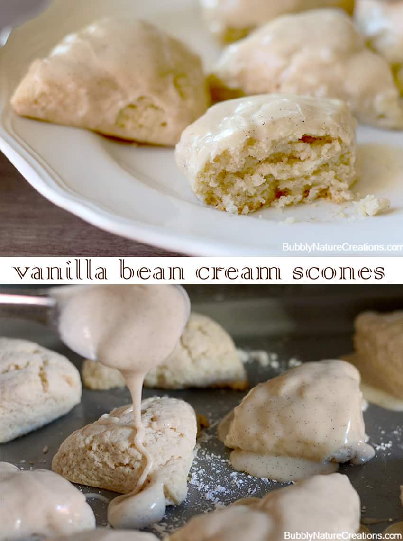 Vanilla Bean Cream Scones 2