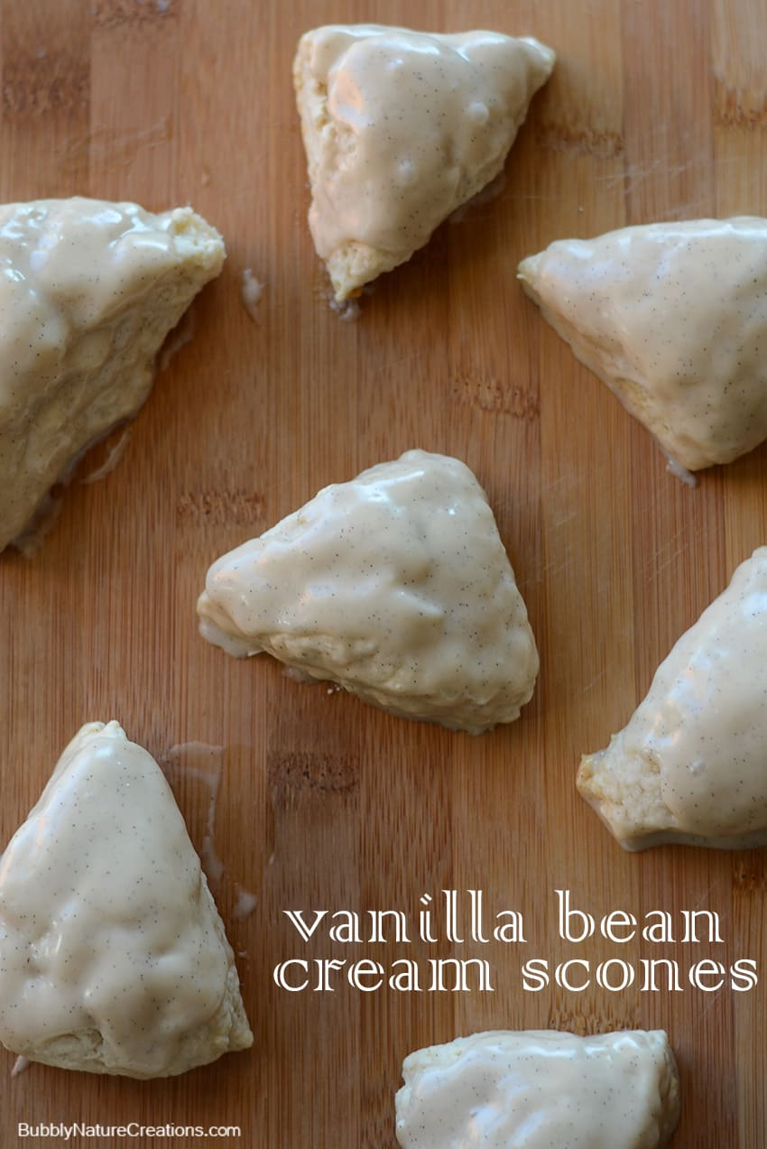 Vanilla Bean Cream Scones