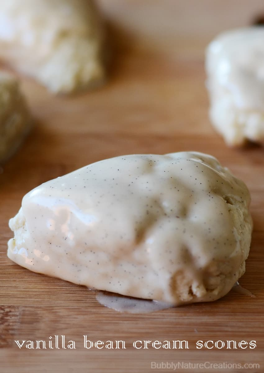 Vanilla Bean Cream Scones1