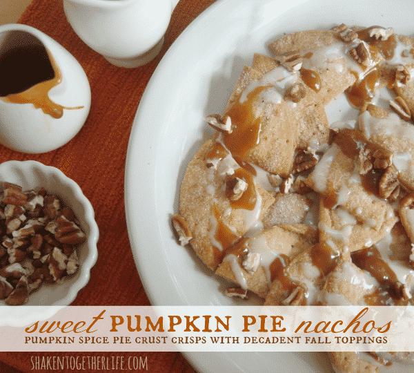 Sweet Pumpkin Pie Nachos