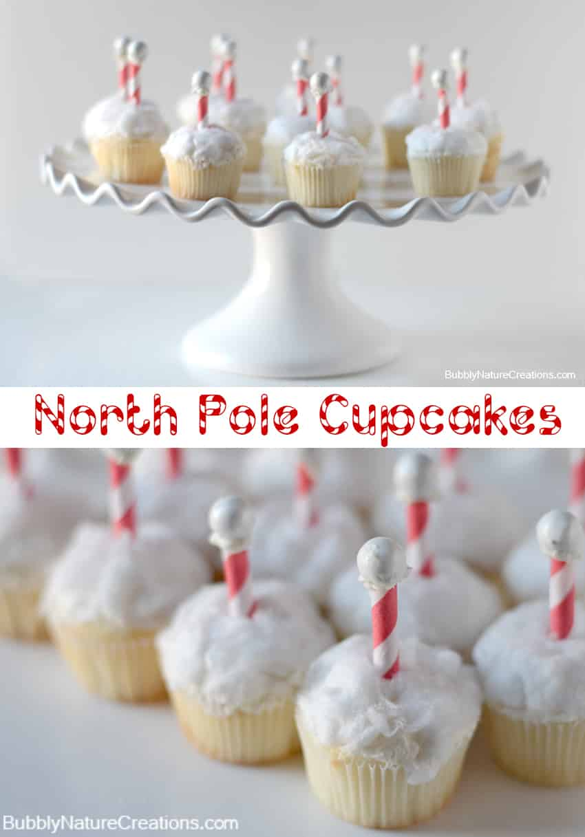 north pole cupcakes 1