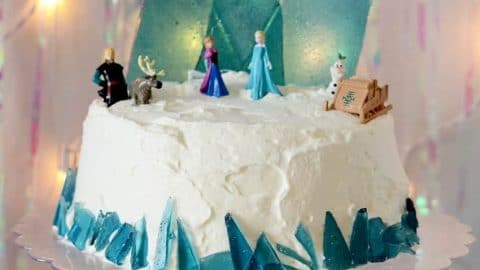 Prime Disney Frozen Cake Tutorial Sprinkle Some Fun Funny Birthday Cards Online Inifodamsfinfo