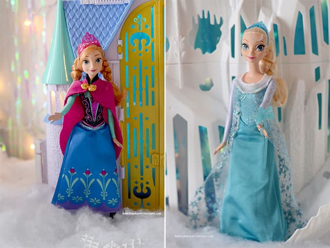 FROZEN Anna and Elsa for decorations!