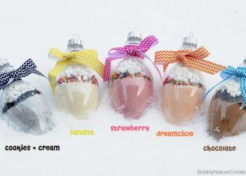 Flavored Milk Mix Ornaments!