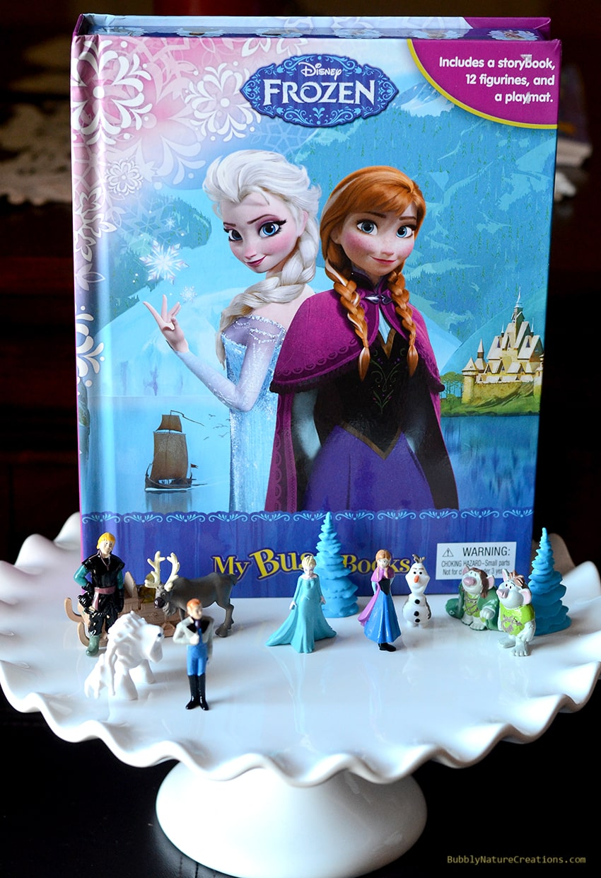 Disney FROZEN Busy Book for a Easy Disney Frozen Cake with Ice Cream!