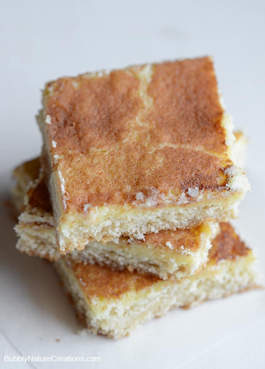Gooey Cinnamon Butter Bars #shop
