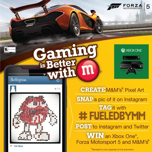 M&M's and Forza Motorsport 5 #shop