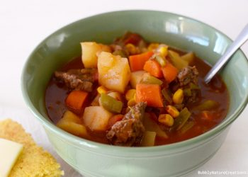 Mom's Vegetable Beef Stew  (Crockpot) Heirloom Recipes