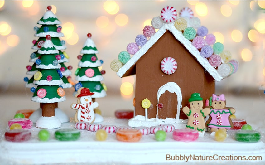 Diy Wooden Gingerbread House Sprinkle Some Fun