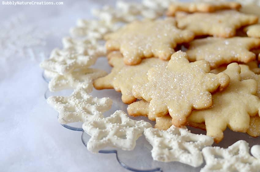 Frozen Party Snowflake Cookies