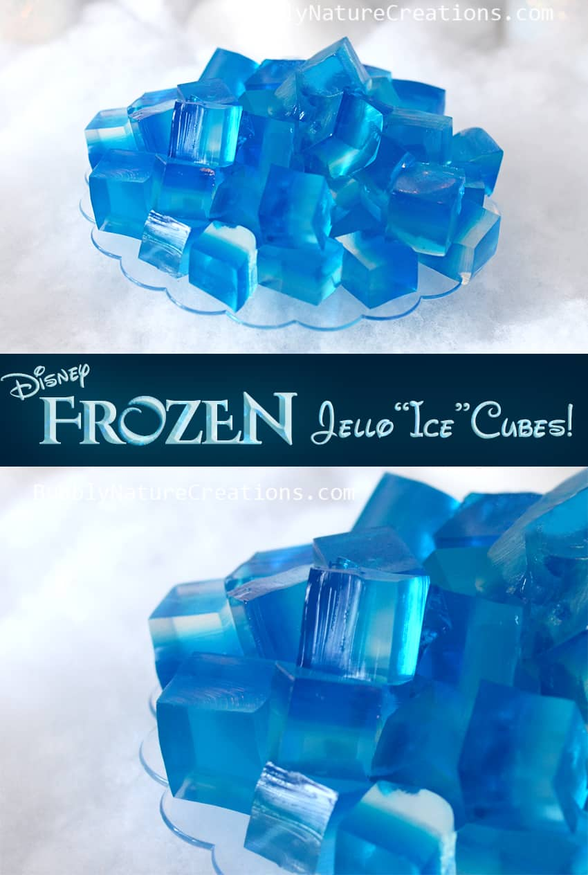 Disney Frozen Jello Ice Cubes Sprinkle Some Fun