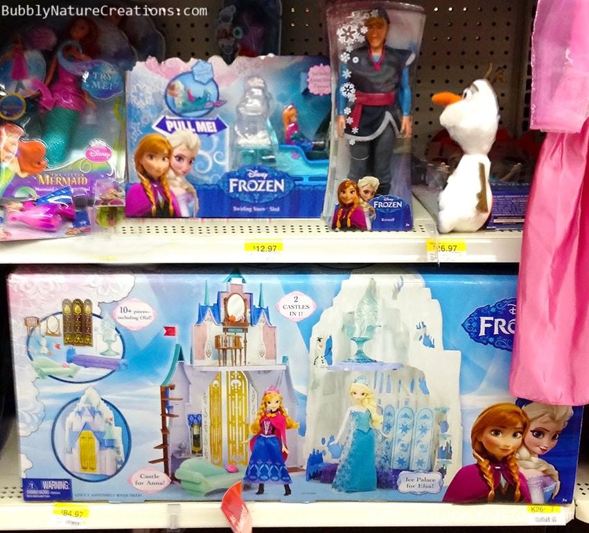 Disney Frozen Cakes at Walmart