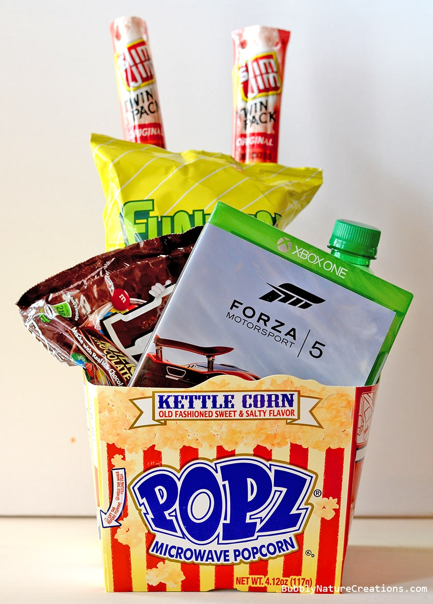 Snacks and Video Games Gift Basket!   #shop