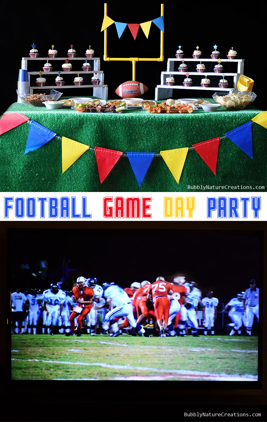 Football Game Day Party Ideas and Planning!  #cbias #shop #OneBuyForAll