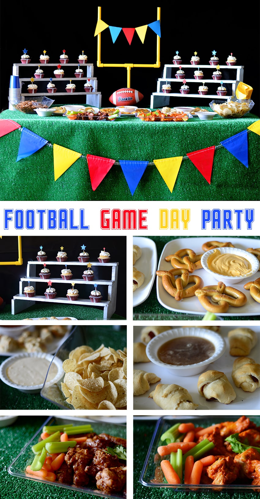 Football Game Day Party Ideas... decorations and recipes.  #cbias #shop #OneBuyForAll