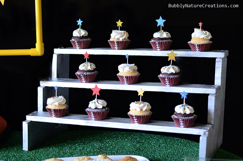 DIY Bleacher Cupcake Stand!  #cbias #shop #OneBuyForAll